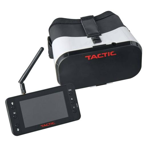 "FPV-G1 Goggles with 4.3"" Monitor 5.8GHz 40Ch/RceP"