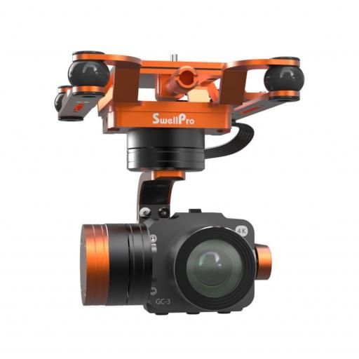 Waterproof 4K 3 Axis Gimbal Camera For Splashdrone 3