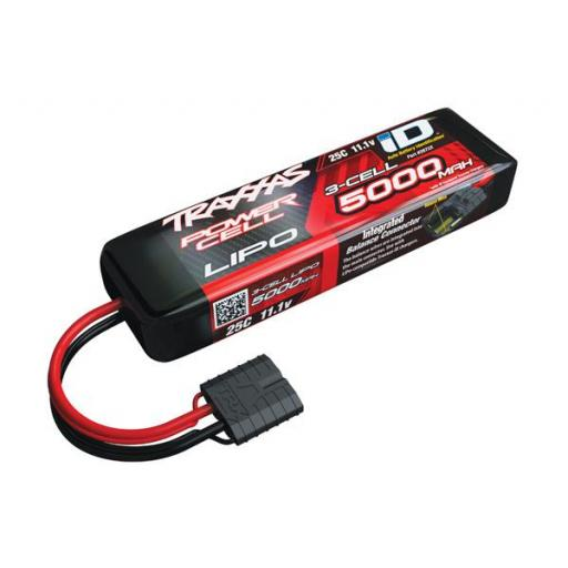 5000mAh 11.1V 3S 25C LiPo ID Battery