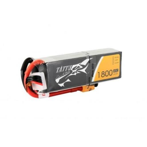 TATTU 1800MAH 11.1V 3S 45C LIPO BATTERY PACK - SALE £6.00
